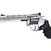 revolver co2 dan wesson 715 6″ silver .177 bbs # 18192
