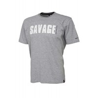 SG Simply Savage Tee - Light Grey Melangé