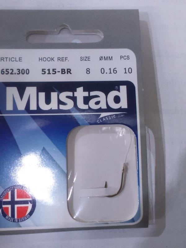 Hameçons montés Mustad 515 Br