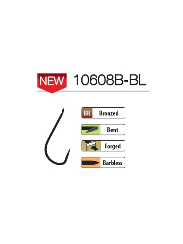 Hameçons Hisashi 10608B-BL