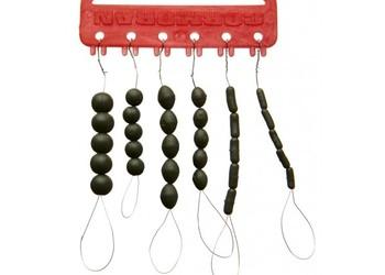 Assortiment de Stopper en silicone, vert olive