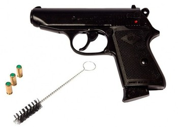 pistolet a blanc bruni – new police – cal 8 mm – blu