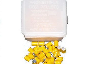 boite de 125 plombs prometheus white co2 – 4,5 mm