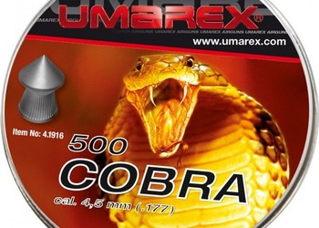 boite de 500 plombs umarex cobra pointus – 4,5 mm # 4.1916