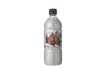 bouteille 6000 billes soft air blaster devil 0,25 gr # 16174
