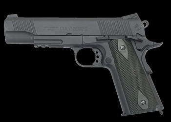 pistolet soft air colt 1911 f-metal blackened – co2 # 180524