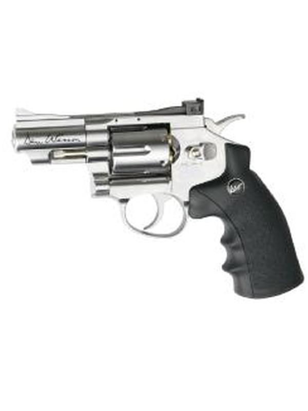 revolver co2 dan wesson 2.5″ nickel .177 bbs # 17177