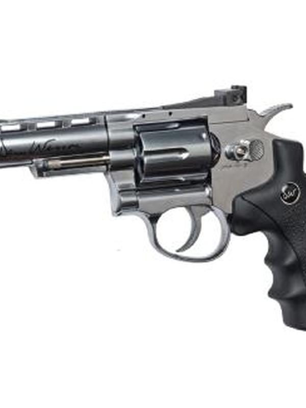 revolver dan wesson 4″ f-metal sts – co2 # 16181