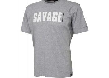 SG Simply Savage Tee - Light Grey Melangé