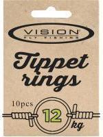TIPPET RINGS, Anneau Petite 12kg. test